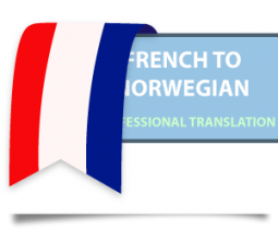 Translation French to Norwegian