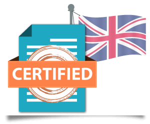 UK certified translation