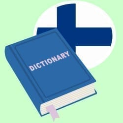online dictionary finnish to english