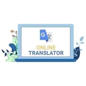 accused using google translate